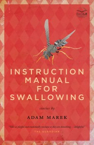 Instruction Manual for Swallowing by Adam Marek (North American edition) cover design