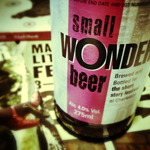 Five things I learned at Small Wonder yesterday
