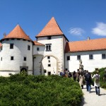 Last stop on the tour, Varazdin castle. Did you know Varazdin used to be the Croatian capital, before the government moved following a big fire that destroyed the city in 1776? Well I did, because I paid attention to the guide the whole time.