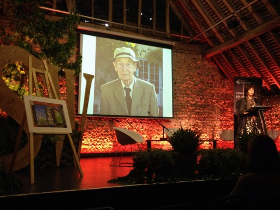 William Trevor wins the inaugural Charleston-Chichester lifetime achievement award for excellence in short fiction.