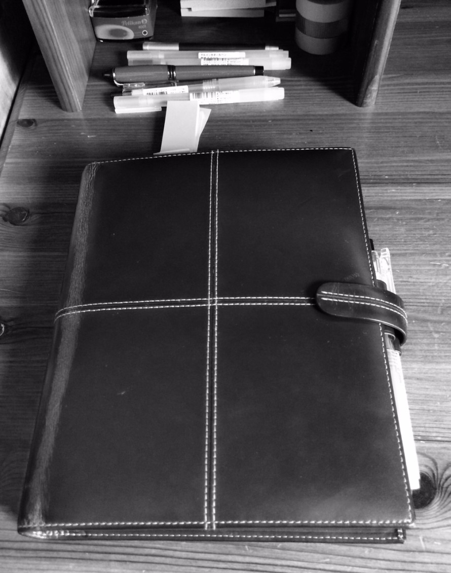 Filofax A5 Classic, Italian leather