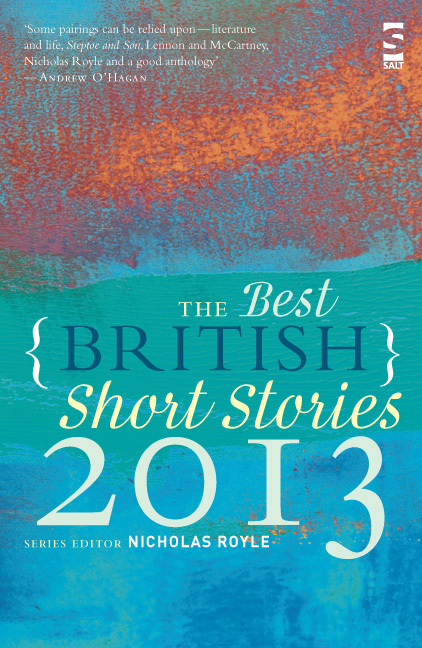 Best British Short Stories 2013 cover