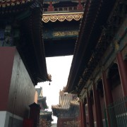 The Lama temple, Beijing
